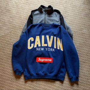 Calvin Klein sweater bundle